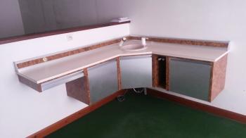 Meuble d 39 angle ferlain brens - Grand meuble d angle ...